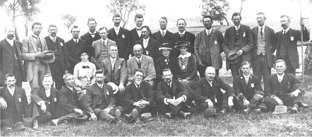 Ginninderra Farmers' Union, 1915