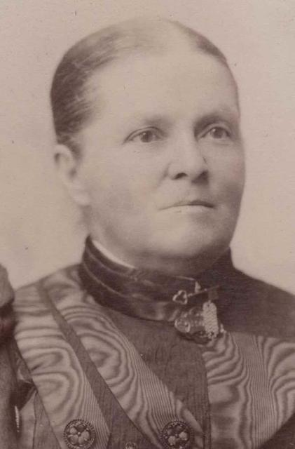 Believed to be Agnes Sandford Gribble
