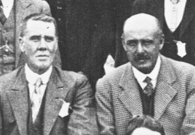 Charles Thompson and Everard Crace