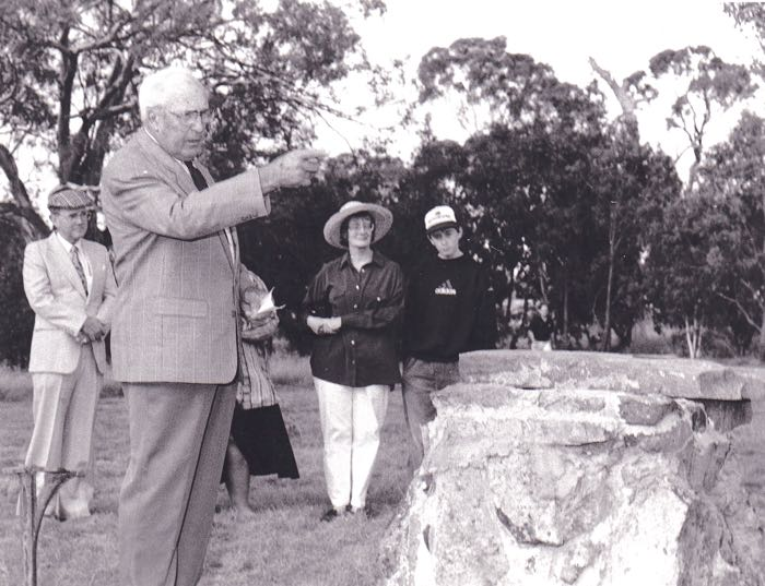 Unveiling of the Memorial Cairn on the site of Bedellick school