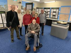 Visit by descendants of the Gribble and O'Brien families