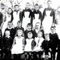 Googong school teacher and pupils